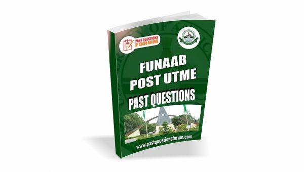 FUNAAB Post UTME Past Questions