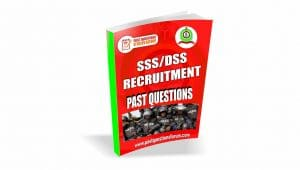 SSS/DSS Recruitment Past Questions