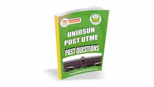 UNIOSUN Post UTME Past Questions