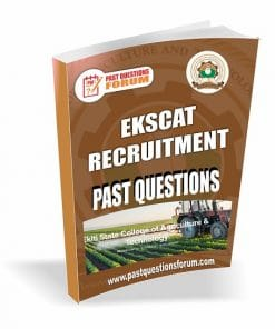 EKSCAT Recruitment Past Questions