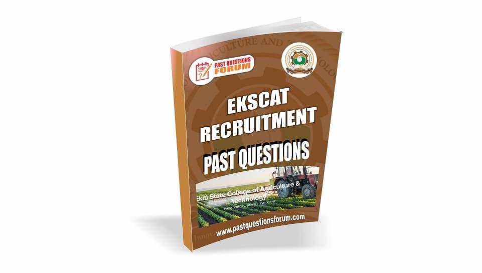 EKSCAT Recruitment Past Questions