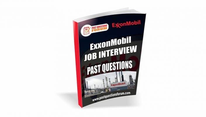 ExxonMobil Past Questions
