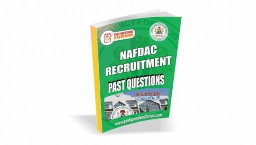 NAFDAC Past Questions