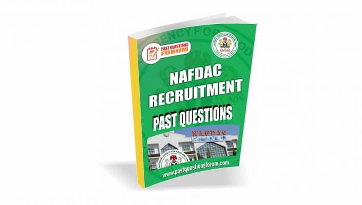 NAFDAC Past Questions