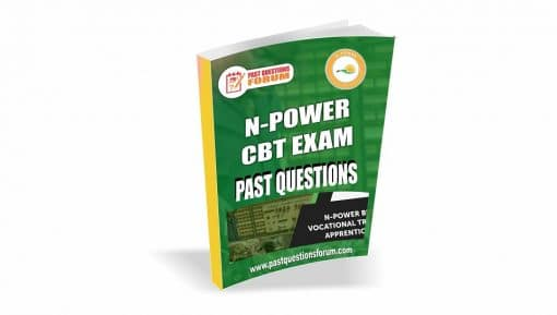 NPower Exam Past Questions