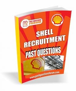 SHELL Recruitment Past Questions