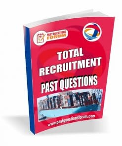 TOTAL Recruitment Past Questions