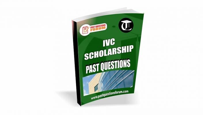 IVC Scholarship Past Questions