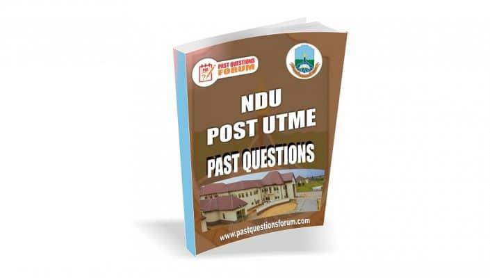 NDU Post UTME Past Questions