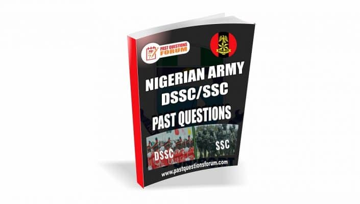 Nigerian Army DSSC SSC Past Questions