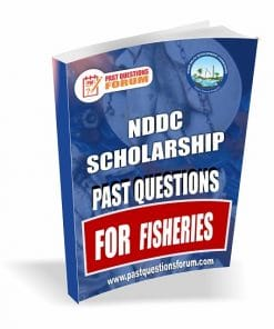 NDDC Scholarship Past Questions for FISHERIES