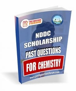 NDDC Scholarshp Past Questions for CHIMSTRY
