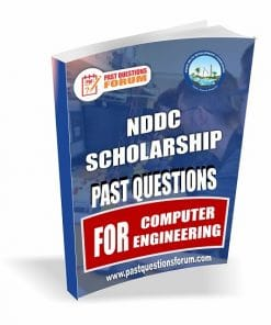 NDDC Scholarshp Past Questions for COMPUTER ENGINEERING