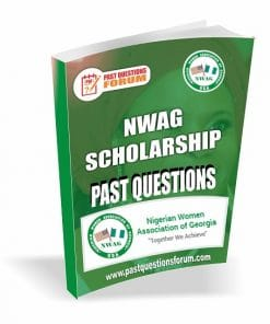NWAG Scholarship Past Questions